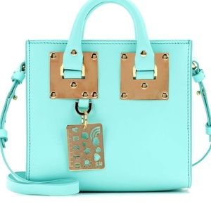 Turquoise mini bag